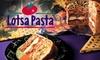 Lotsa Pasta (Closed) - Pacific Beach: $10 for $22 Worth of Italian Fare at Lotsa Pasta