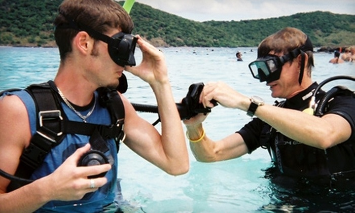 Mac's Sports - Multiple Locations: $189 for a Scuba-Certification Package with Training Kit and Two Open-Water Dives at Mac's Sports ($379.90 Value)