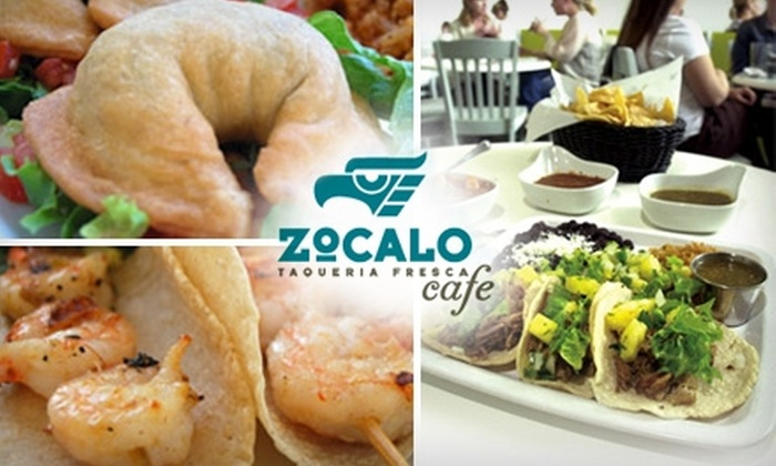 Zocalo Café  - Old West Austin: $10 for $20 Worth of Fresh Mexican Fare at Zocalo Café