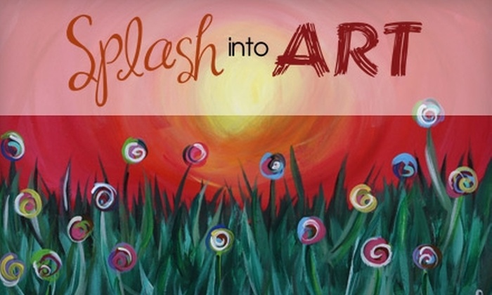 Splash into ART - Conyers: $12 for a Two-Hour Painting Class at Splash into Art in Conyers