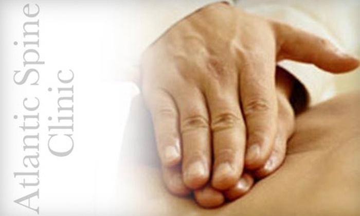 Atlantic Spine Clinic - Mount Pleasant: $40 for Two Chiropractic Treatments at Atlantic Spine Clinic ($237 Value)