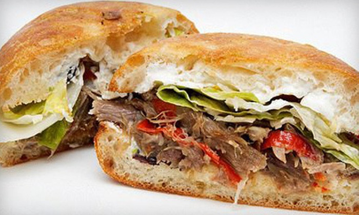 Basil's Subs - North Vancouver: Catered Lunch or Dinner for 10 People or $8 for $16 Worth of Gourmet Sandwiches at Basil's Subs in North Vancouver