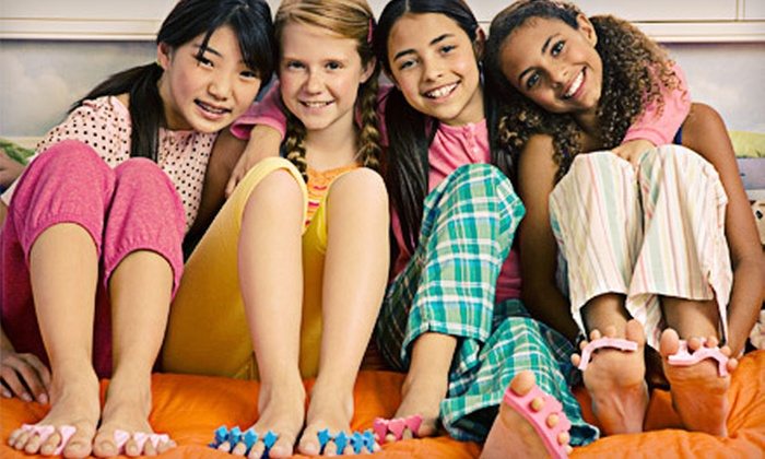 D.R.E.A.M.S. Mobile Charming Spa Parties for Girls - Multiple Locations: In-Home Spa Party from D.R.E.A.M.S. Mobile Charming Spa Parties for Girls (Up to 55% Off). Three Options Available.