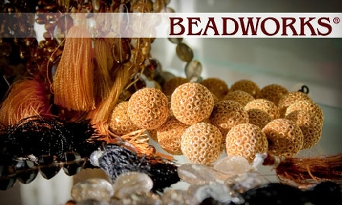Beadworks - Bella Vista/ Southwark: One-Hour Basic or Advanced Jewelry-Making Class at Beadworks. Choose Between Two Options.