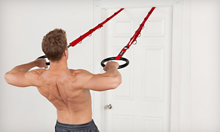 I.M. Rings Suspension Training System: $69 for a Body by Jake I.M. Rings System with 7 Workout DVDs ($134.80 Value)