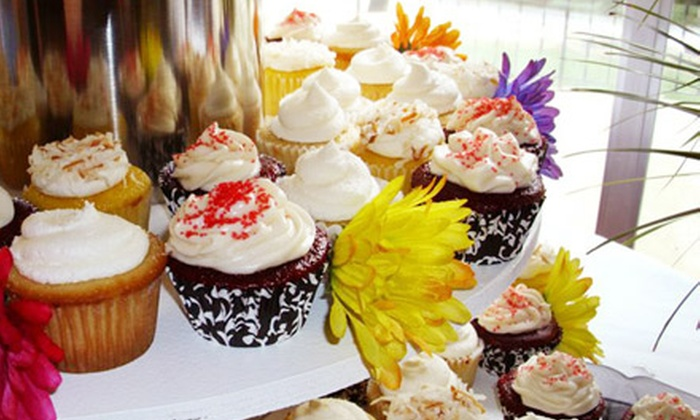 Pin-Up Pastries - Southern: $15 for a Dozen Delivered Cupcakes from Pin-Up Pastries (Up to $30 Value)