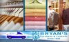Bryans Cleaners - Multiple Locations: $20 for $40 Worth of Picked Up and Delivered Dry Cleaning Services from Bryan's Cleaners & Laundry