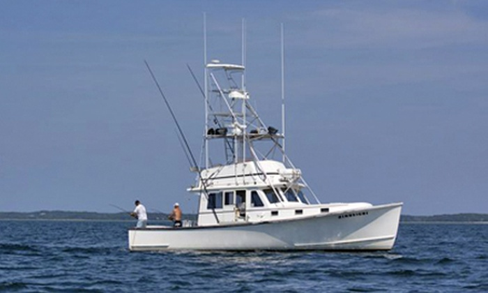 Hindsight Sportfishing Charters - Orleans: $450 for a Four-Hour Fishing Trip for Up to Six from Hindsight Sportfishing Charters (Up to $750 Value)