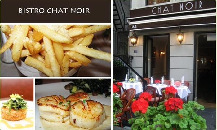 Bistro Chat Noir - Upper East Side: $10 for a $25 Groupon to Bistro Chat Noir