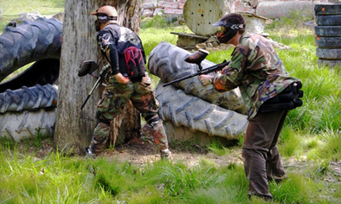 Robin Hood Paintball - 2, Halls Cross Roads: Single-Day Paintball Outing with Gear for One, Two, or Four at Robin Hood Paintball in Havre de Grace (Up to 57% Off)