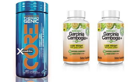 One Bottle of Xenadrine Core Weight-Loss Supplement Plus Two Free Bottles of PureGenix Garcinia Weight-Loss Supplements