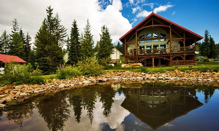 Groupon Deal: Stay with Lunch and Mountain-Tour Guidebook at Heather Mountain Lodge in Golden, BC. Dates Available into September.