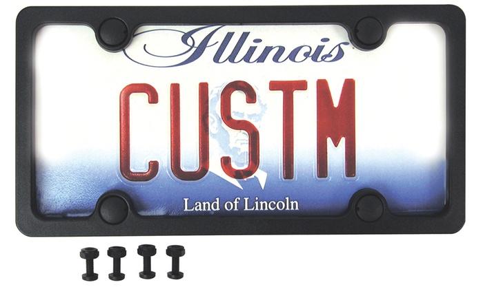 License Plate Frame | Groupon