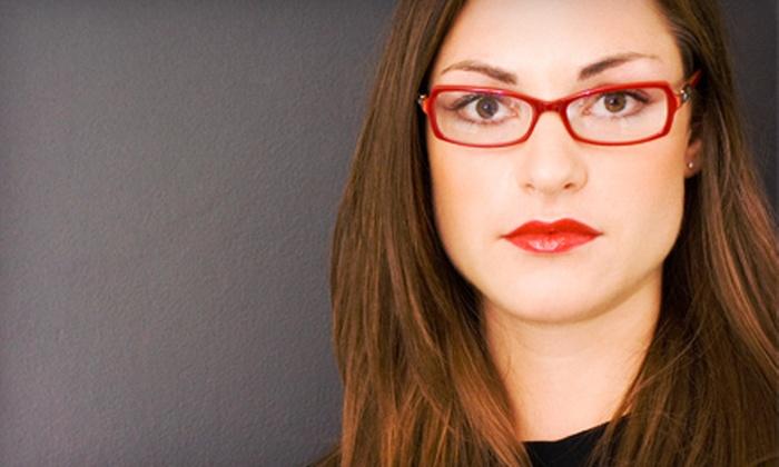 Ice Fine Eyewear - Preston Springs 1: Eye Exam and $150 Toward Glasses, or $50 for $200 Toward Glasses at Ice Fine Eyewear in Plano