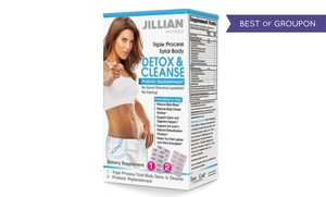 Jillian Michaels Detox and Cleanse Kit with Probiotic Replenishment
