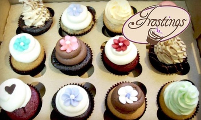 Frostings - Three Chopt: $14 for a Dozen Cupcakes at Frostings in Glen Allen ($29 Value)
