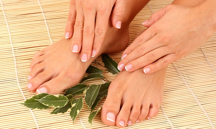 A Place in the Park - A Place in the Park: Spa Mani-Pedi or Spa Pedicure at A Place in the Park (51% Off)