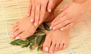 A Place in the Park: Spa Mani-Pedi or Spa Pedicure at A Place in the Park (51% Off)