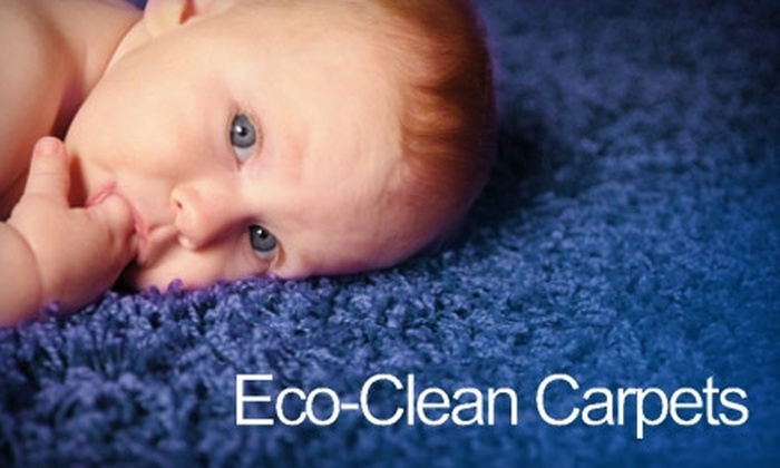 Eco-Clean Carpets - Saskatoon: $18 for a Two-Room Carpet Cleaning from Eco-Clean Carpets ($36 Value)