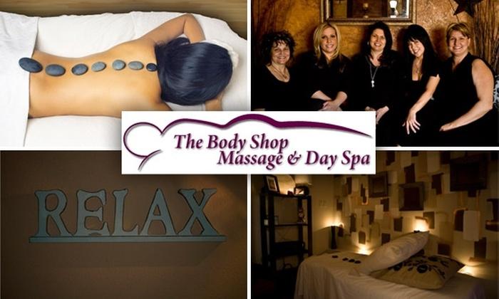 The Body Shop Massage & Spa - Arrowhead Meadows Association: $45 for Hot-Stone Massage and Salt Scrub at The Body Shop Massage & Day Spa in Chandler