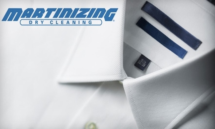 Martinizing Dry Cleaning - Multiple Locations: $12 for $25 Worth of Dry-Cleaning Services at Martinizing Dry Cleaning