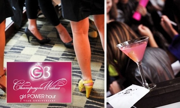 Girl Power Hour - Woodbridge: $20 for Admission to Girl Power Hour's Champagne Wishes Soiree on September 24 at 8 p.m.