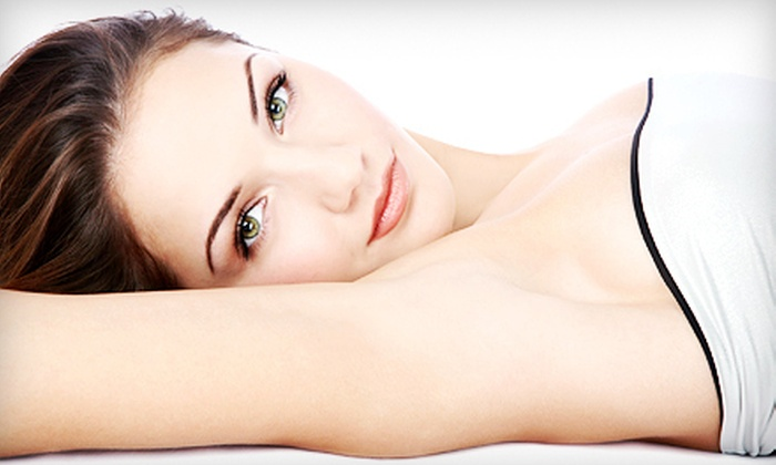 Spa Fit - SpaFit of Jericho: Six Laser Hair-Removal Treatments on a Small, Medium, or Large Area at Spa Fit in Jericho (Up to 87% Off)