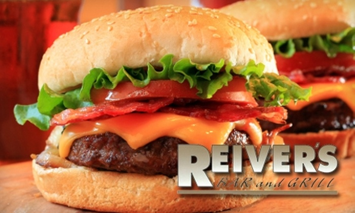Reiver's Bar and Grill - Washington Park: $10 for $20 Worth of Pub Fare and Drinks at Reiver's Bar and Grill