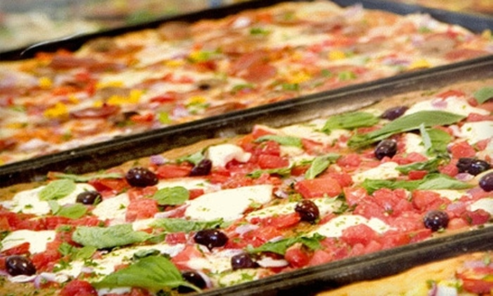 Pizza Rustica - Doral: $7 for $15 Worth of Pizza, Paninis, and More for Dinner at Pizza Rustica in Doral