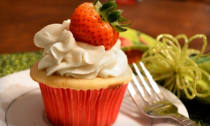 Dainty Cakes - Kansas City: Gourmet Cupcakes for Pick-Up or Delivery from Dainty Cakes (Half Off)