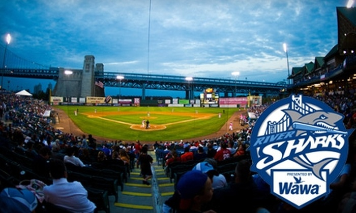 Camden Riversharks - Cooper Grant: $70 for Holiday Family Four Pack of Tickets ($188 Value) or $55 for Couples Holiday Pack ($170 Value) for Camden Riversharks Games