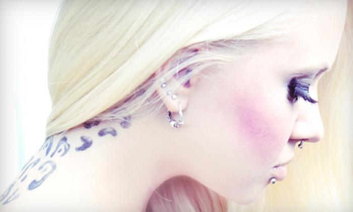 Blackstar Body Piercing - Sunnyside: $30 for $60 Worth of Piercings and Jewellery at BlackStar Body Piercing