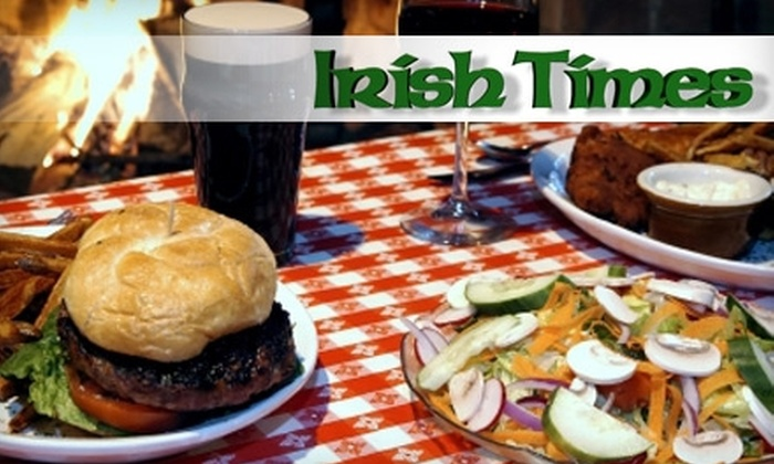 O'Hara's Irish Times - Pickering: $15 for $30 Worth of Pub Fare and Drinks at O'Hara's Irish Times in Pickering