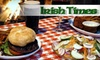 Irish Times - Pickering: $15 for $30 Worth of Pub Fare and Drinks at O'Hara's Irish Times in Pickering