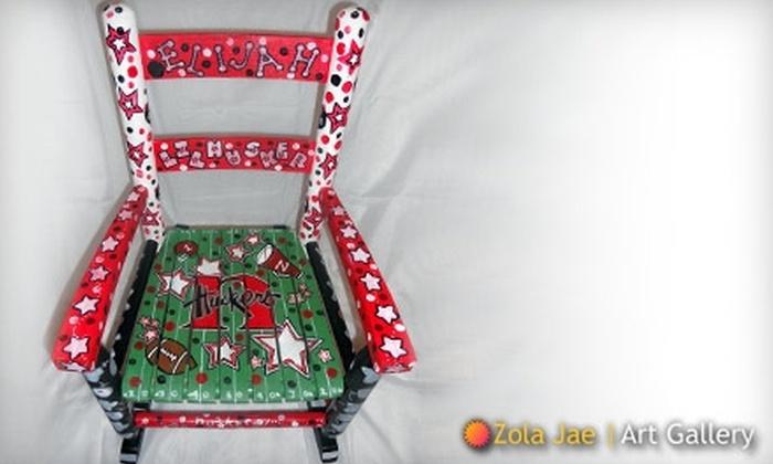 Zola Jae: $149 for $300 Toward Handmade Children's Chairs and Artwork from Zola Jae