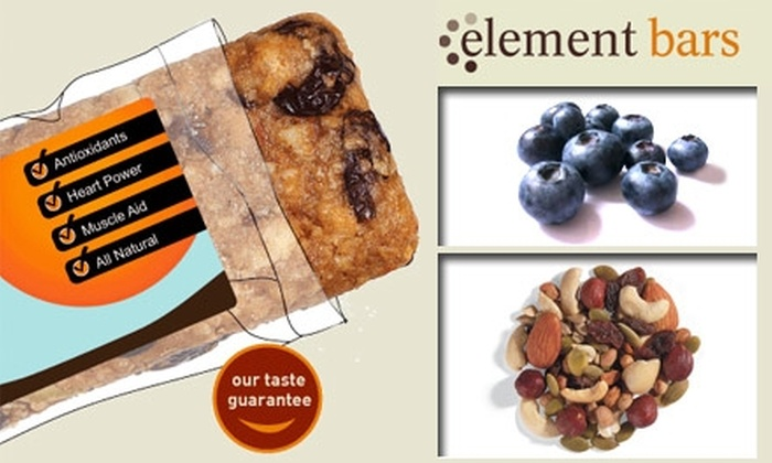 Element Bars Inc - San Diego: $10 for $25 Worth of Custom Energy Bars from Element Bars, Inc.