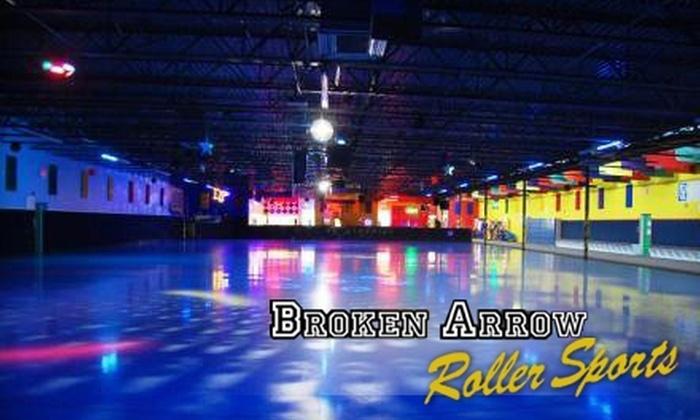 Broken Arrow Roller Sports - Broken Arrow: $22 for a Four-Person Family Package to Broken Arrow Roller Sports ($44 Value)