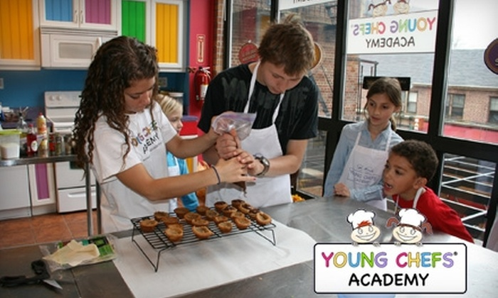 Young Chefs Academy - Forest Hills: $19 for One 90-Minute Cooking Class ($45 Value) or $25 for Two-Hour Cupcake Workshop ($50 Value) at Young Chefs Academy in Forest Hills