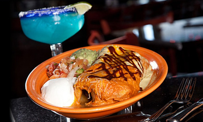 Blue Agave Mexican Cantina - Desert View: Mexican Cuisine and Drinks or Two-Course Dinner for Two or Four People at Blue Agave Mexican Cantina