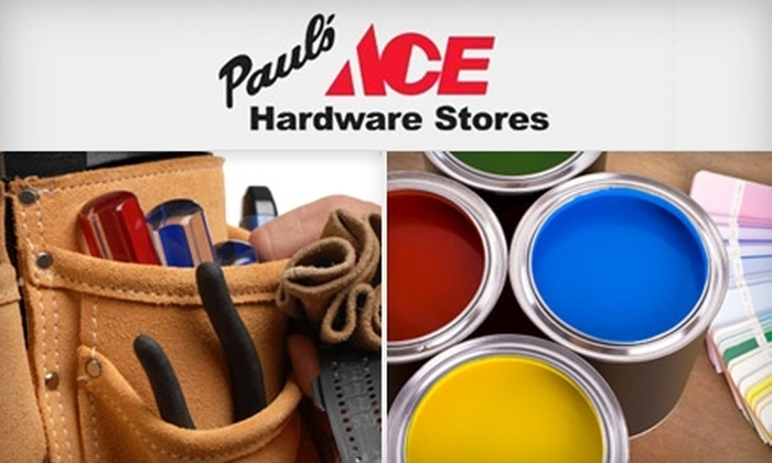 Paul's Ace Hardware Stores - Multiple Locations: $10 for $20 Worth of Home-Improving Supplies at Paul's Ace Hardware Stores