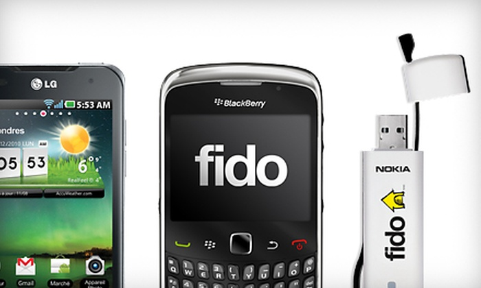 Fido Wireless2Go - Multiple Locations: $50 for a Fido Mobile Internet Stick at Fido Wireless2Go ($130 Value)