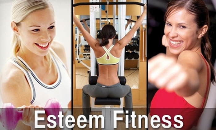 """ESTEEM Fitness - Northeast Virginia Beach: $25 for Eight """"Just Us Gals"""" Group Training Sessions at Esteem Fitness ($125 Value)"""