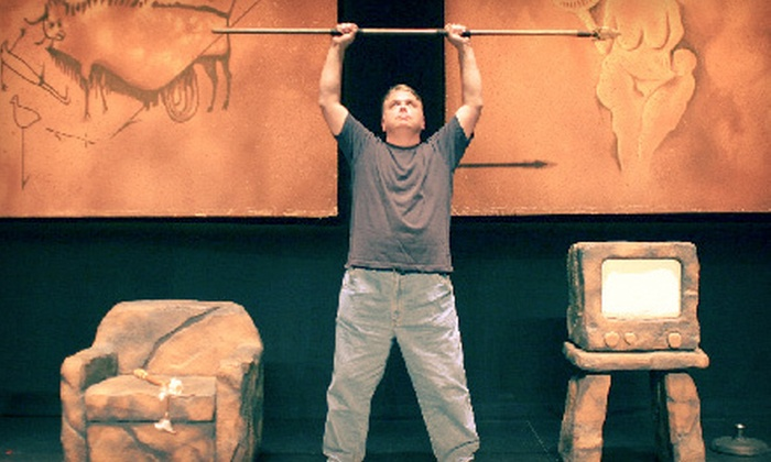 """Defending the Caveman"" - Schiller Park: One Ticket to ""Defending the Caveman"" at Akoo Theatre at Rosemont on February 18 at 8 p.m. Three Options Available."