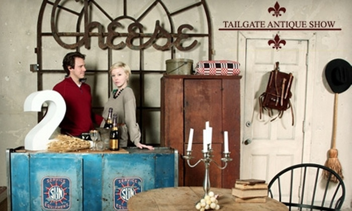 Tailgate/Music Valley Antique Show - South Nashville: Tickets to the Tailgate Antiques Show and Antiques at Music Valley Show. Choose Between Two Options.