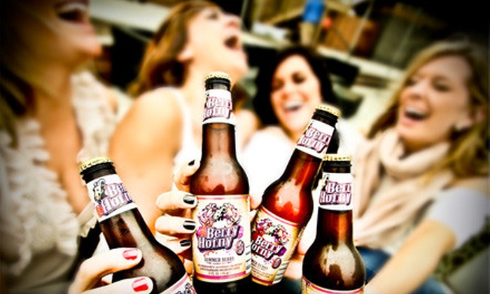 Horny Goat Hideaway - Milwaukee: New Year's Eve Party Package featuring The Toys at Horny Goat Hideaway (Up to 51% Off). Two Options Available.