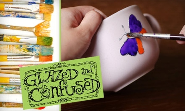 Glazed and Confused - Oakville: $15 for $35 Worth of Paint-Your-Own Pottery at Glazed and Confused