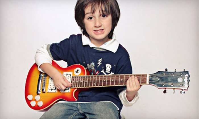 Rock House School of Music - Hill: $58 for Four Half-Hour Private Music Lessons at Rock House in West Haven ($116 Value)