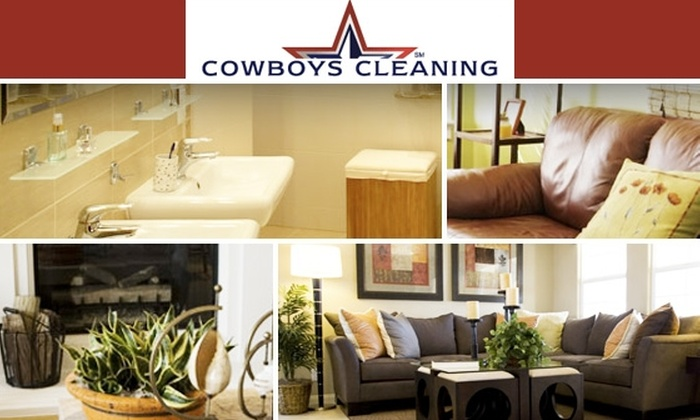 Cowboys Cleaning  - Dallas: $45 for Three Hours of House Cleaning from Cowboys Cleaning