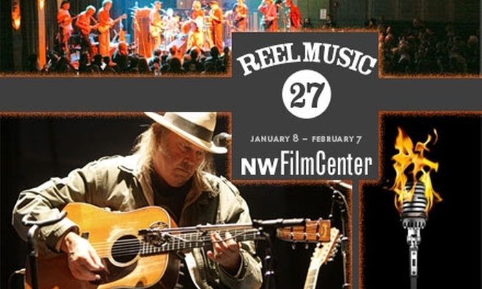 Reel Music Festival - Downtown: $4 for One Screening at Reel Music Festival at the Northwest Film Center ($8 Value). Buy Here for 1/24/10. See Below for Additional Dates.