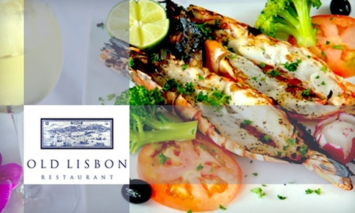 Old Lisbon - Multiple Locations: $15 for $35 Worth of Authentic Portuguese Dining and Drinks at Old Lisbon